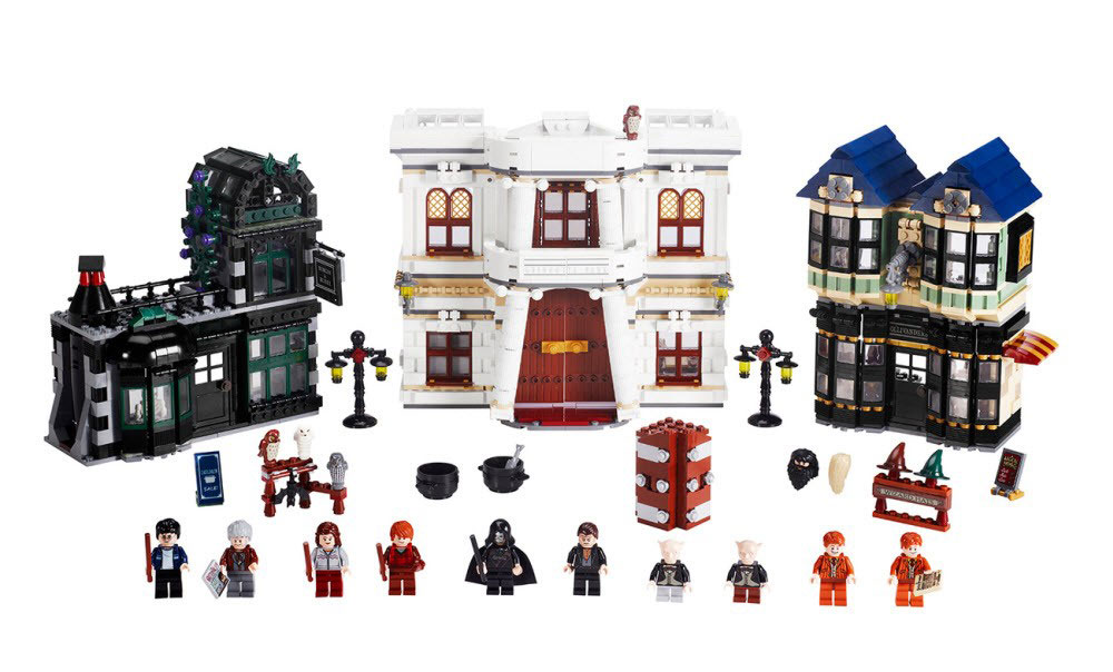 Ebay Watch Lego Harry Potter Diagon Alley 10217 Closed