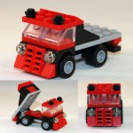 LEGO Micro Flatbed MOC